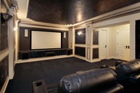 Luxury Theater Room