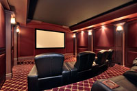 Theatre In Luxury Home